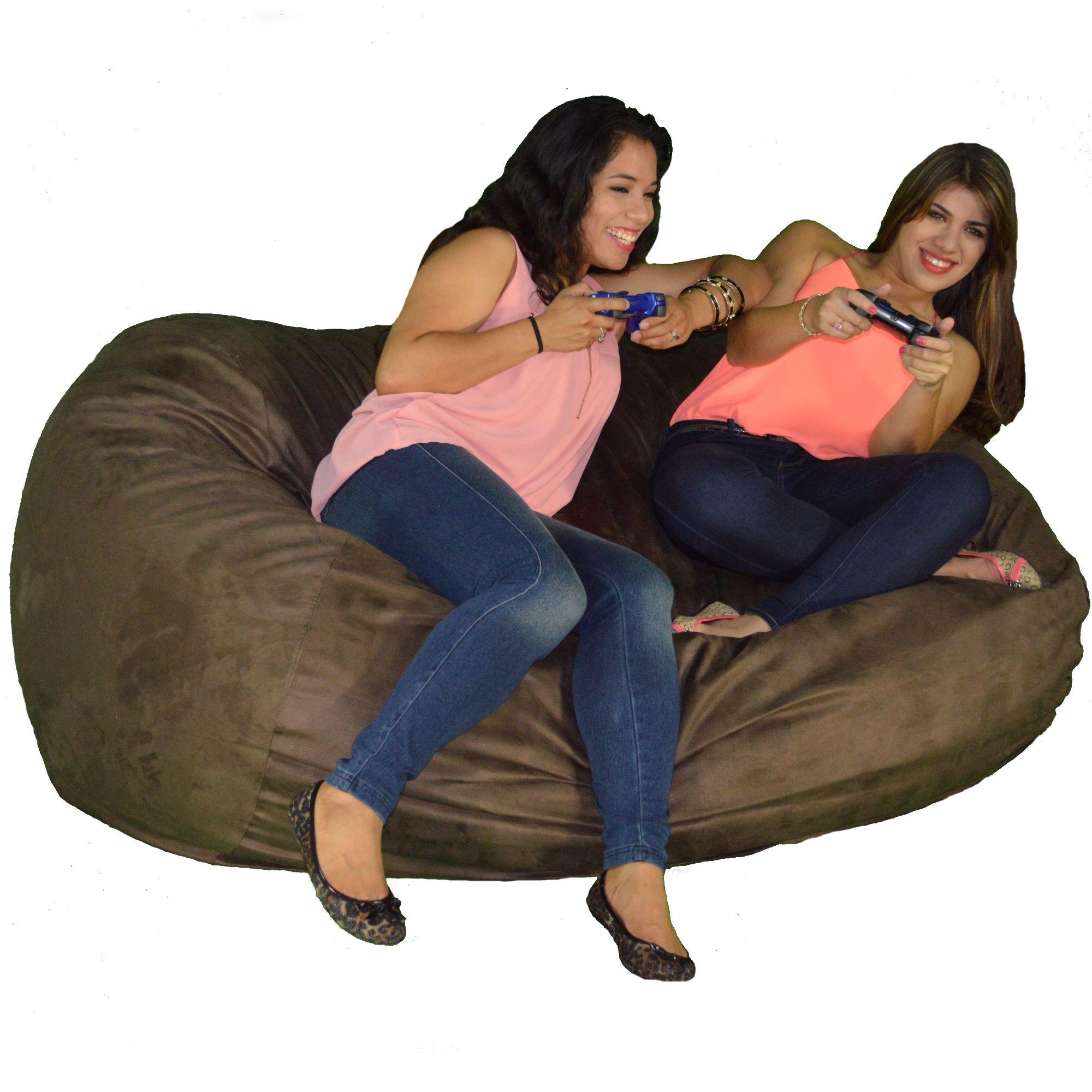 Cozy Sack 640-Cbb-Chocolate Maui Beanbag Chair, 6' , Chocolate by Cozy Sack