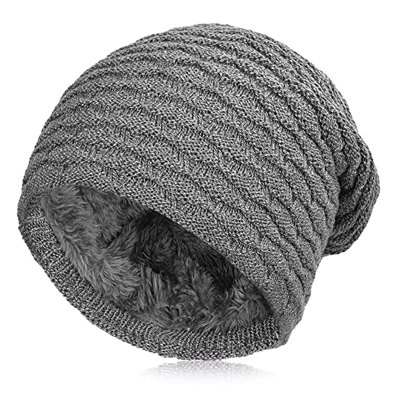 00e730e4 Vbiger Winter Beanie Hat Knitted Outdoor Warm Skiing Hat Skull Cap:  Amazon.ca: Clothing & Accessories