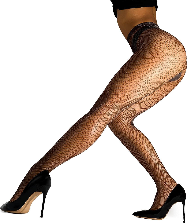 Fabriqu/é en Italie sofsy Collants R/ésille Taille Haute Opaque Pour Femme
