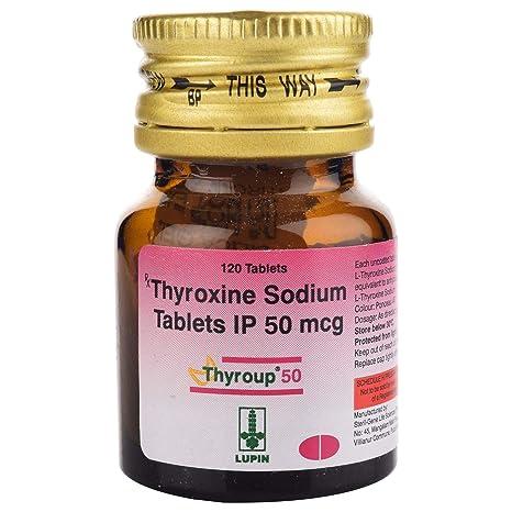 Thyroup 50 Bottle Of 120 Tablets Amazon In