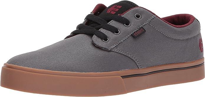 Etnies Jameson 2 Eco Sneakers Skateboardschuhe Grau/Rot/Gummi