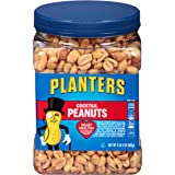 PLANTERS Salted Cocktail Peanuts, 35 oz. Resealable Jar - Heart Healthy Salted Peanuts - A Good Source of Essential Nutrients - Made with Simple Ingredients - Kosher