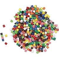 Learning Resources LER0305 Interlocking Centimetre Cubes Set (1000 Piece)
