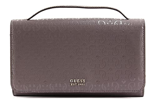 0bdf39ef2c87 GUESS Tamra Wallet On A String Taupe  Amazon.co.uk  Shoes   Bags