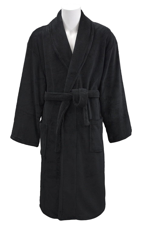bdfc7108d5 Amazon.com  Leisureland Men s Coral Fleece Spa Bathrobe Robes 48