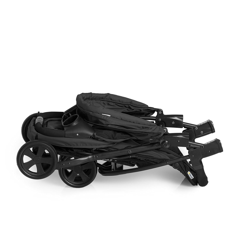seulement 7,5 kg de la naissance /à 15 kg Porte-Gobelet petit m/écanisme de pliage pliable dune seule main Hauck Citi Neo II buggy//tricycle /à 3 roues avec position inclin/ée ultra l/éger