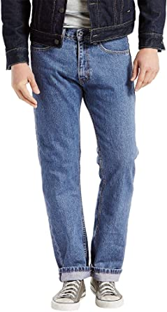 bc5faef6 Levi's Big & Tall Men's Big & Tall 505 Regular Medium Stonewash Jeans ...