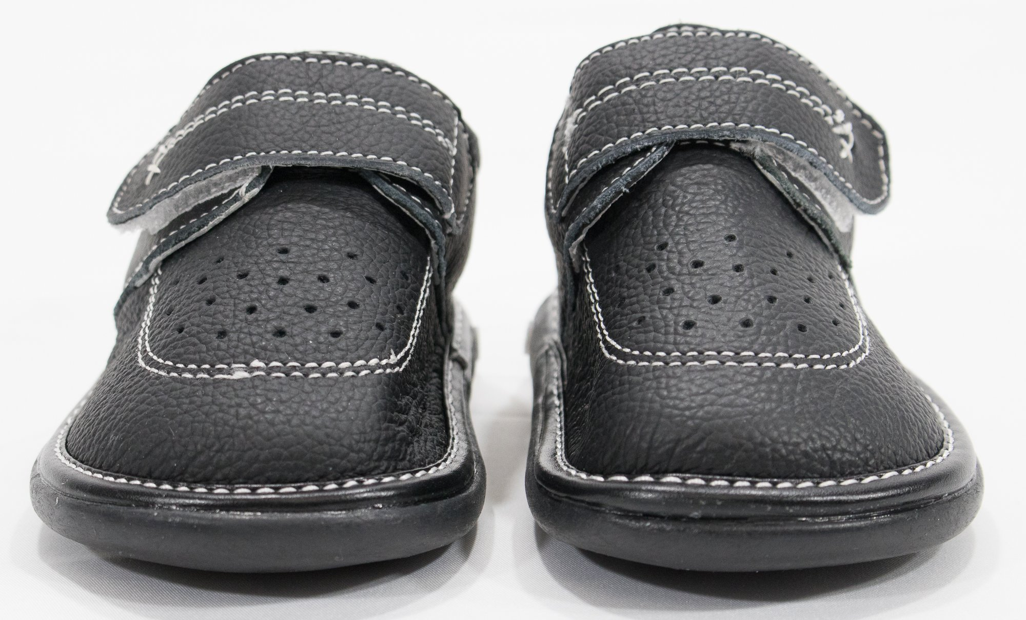 Anderson Baby Care LLC Squeaky Shoes for Toddler Boys (4T, Black Loafer) by Anderson Baby Care LLC (Image #2)