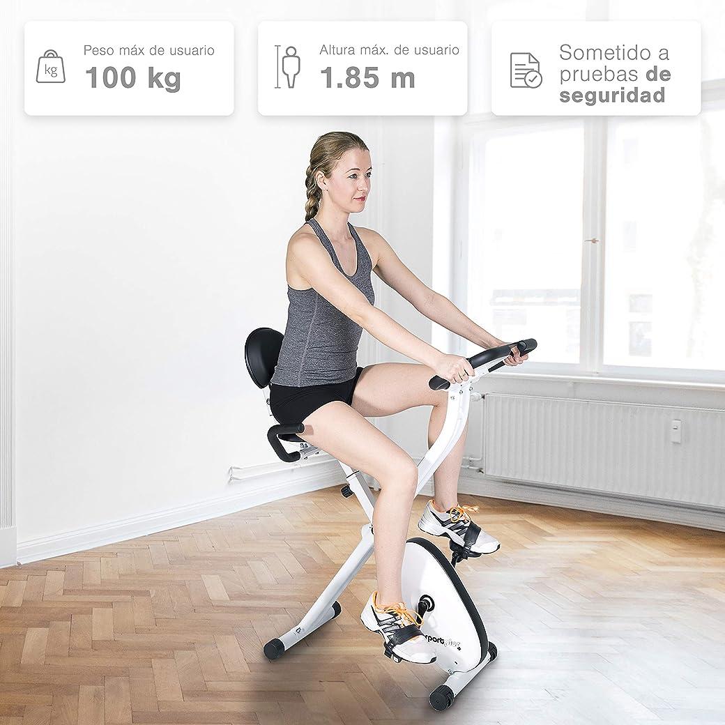 SportPlus X-Bike SP-HT-1004-iE Bicicleta Spinning - La Mejor Bicicleta Spinning del Mercado