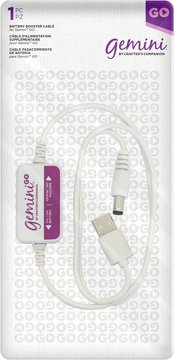 Gemini Go Accessories Booster Cable, us:one size, White