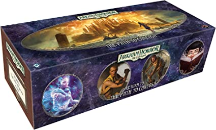 Return to the Path to Carcosa Arkham Horror LCG Deck Box Dividers