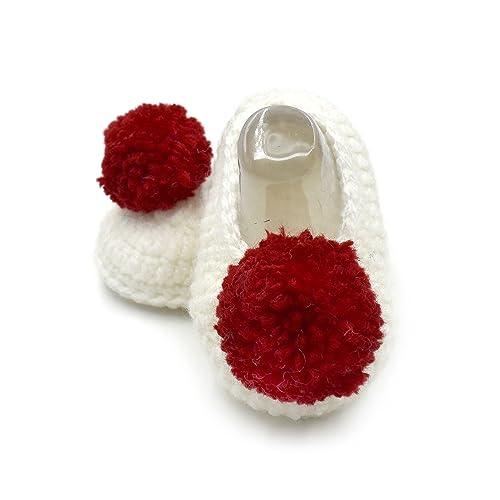 9ad7e3b37e2 Magic Needles Handmade Knit Crochet Baby Booties Uggs Crib ...