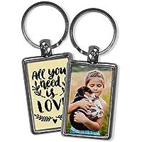 Llavero Amor Personalizado con Foto/Texto/Imagen/Nombre. Llaveros Personalizados 2