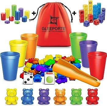 Gleeporte Multiple-color Counting Bears