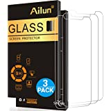 iPhone X Screen Protector,iPhone 10 Screen Protector,[3 Pack]by Ailun,2.5D Edge Tempered Glass for iPhone X/10[5.8inch],Anti-Scratch,Case Friendly,Siania Retail Package