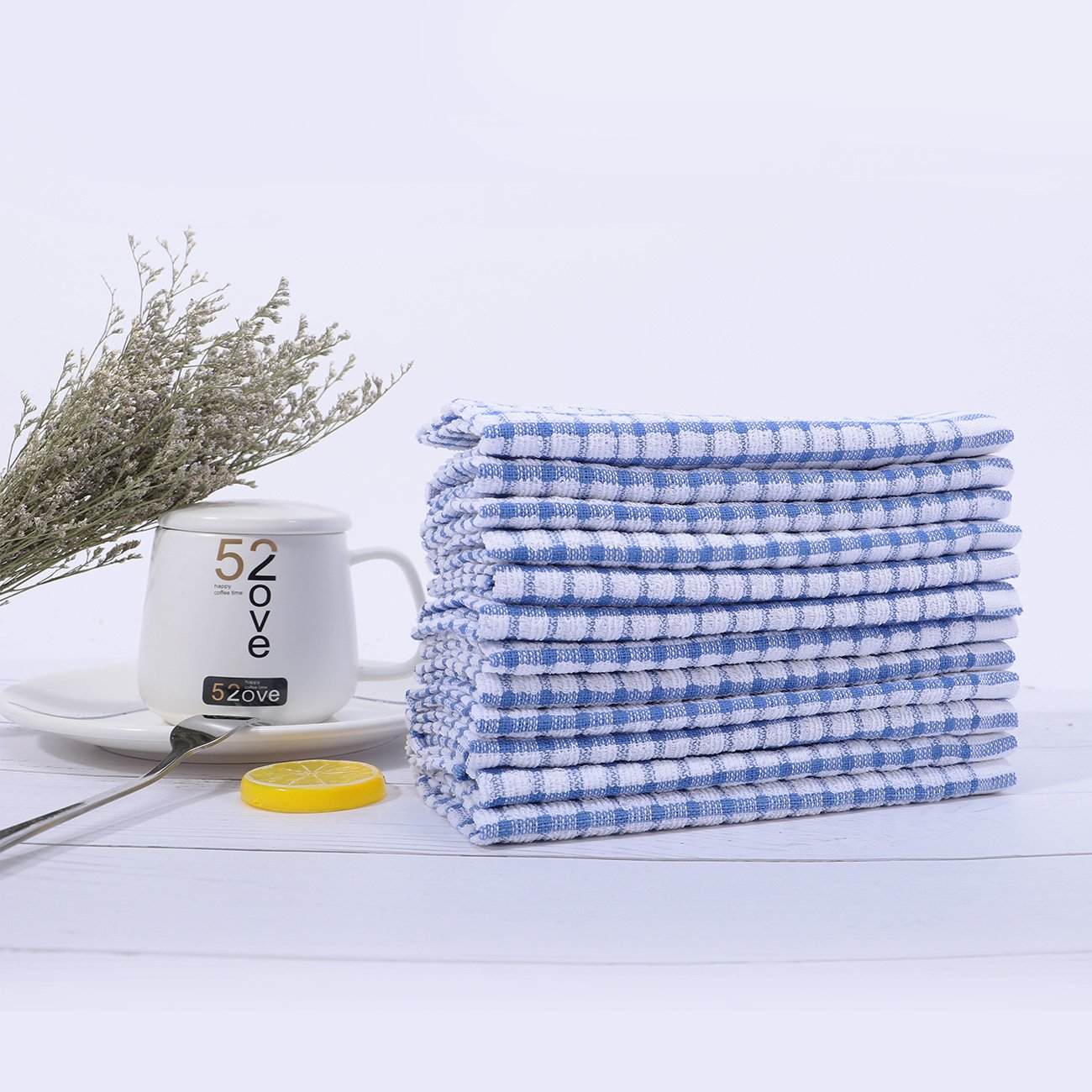 Kitchen Towels Bulk 100% Cotton Kitchen Dish-Cloths