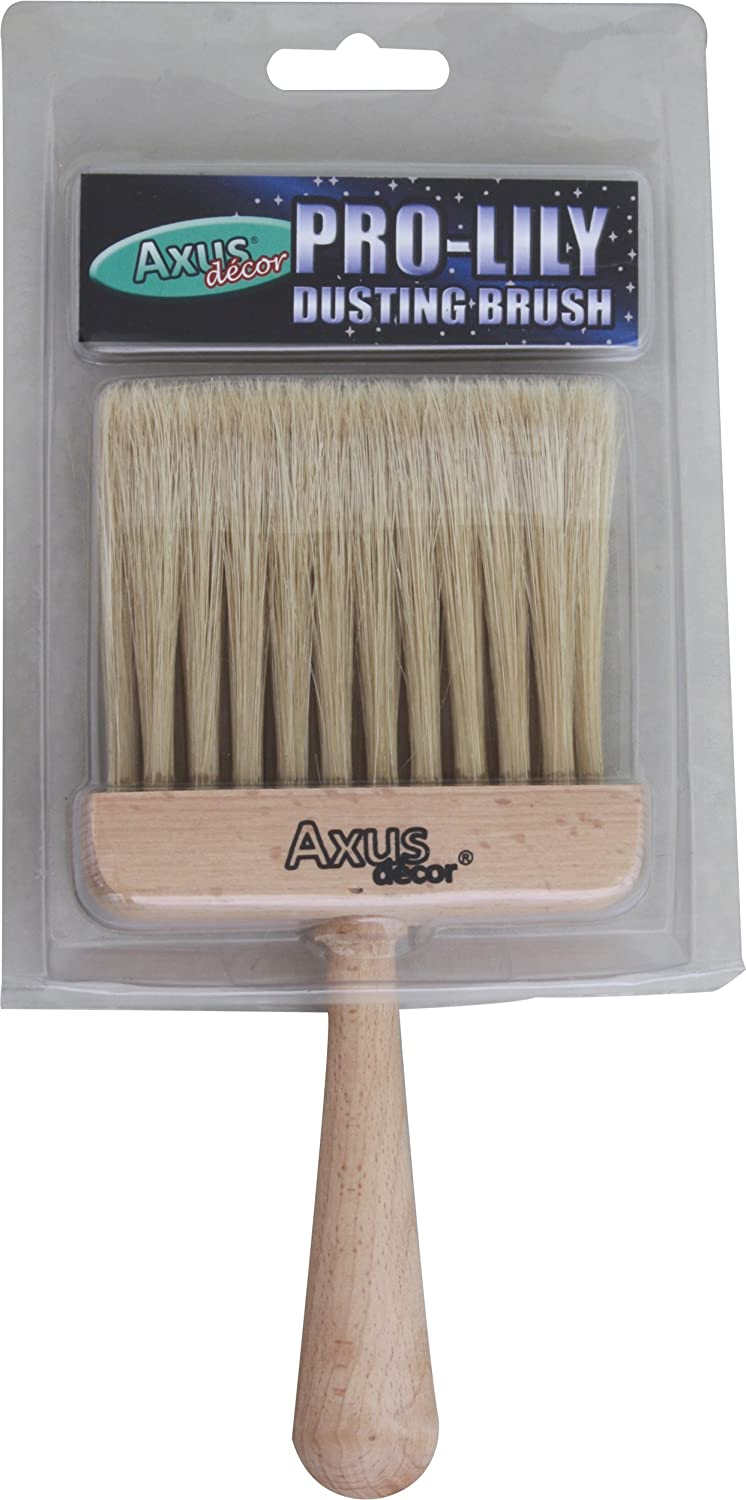 Axus Decor AXU/DBP Pro-Lily Dusting Brush - Beech Axus Décor