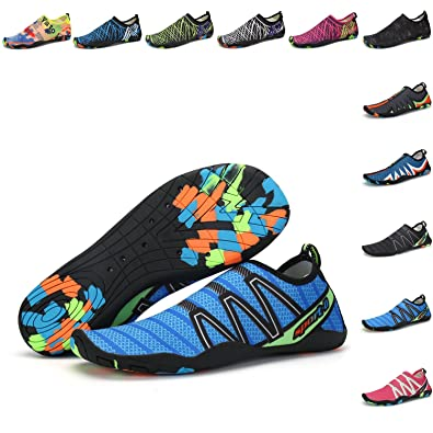 Men Women Water Sports Shoes Skin Barefoot Quick-Dry Aqua Yoga Socks Slip-On Shoes For Swim Beach Pool Surf