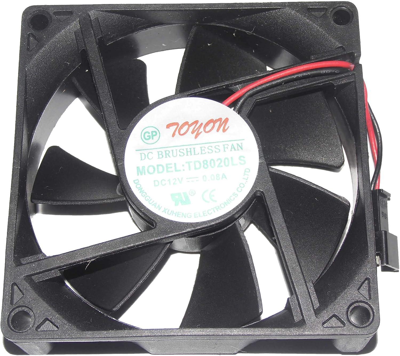 Bomin Technology for TD8020LS 12V 0.08A 8CM Silent Fan