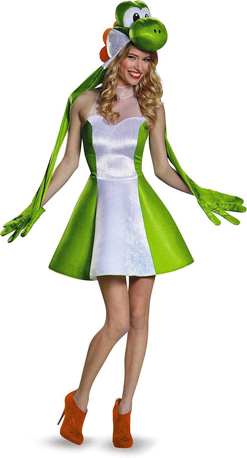 Womens Yoshi Skirt Fancy dress costume Medium: Amazon.es ...
