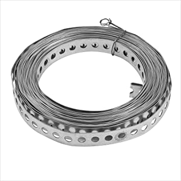 Lochband Montageband Nagelband Montagelochband verzinkt 10m Rolle