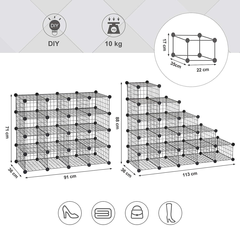 Dimensiones del zapatero modular