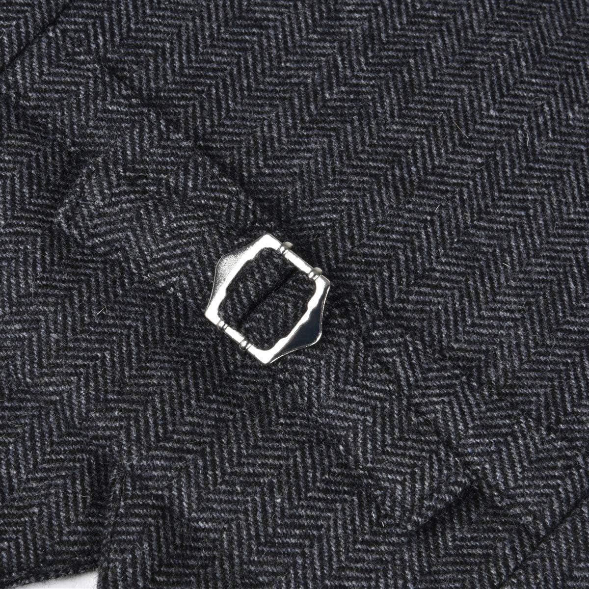 JANGOUL Boys Premium Wool Blend Suits Vest Toddler Child Herringbone Tweed Waistcoat