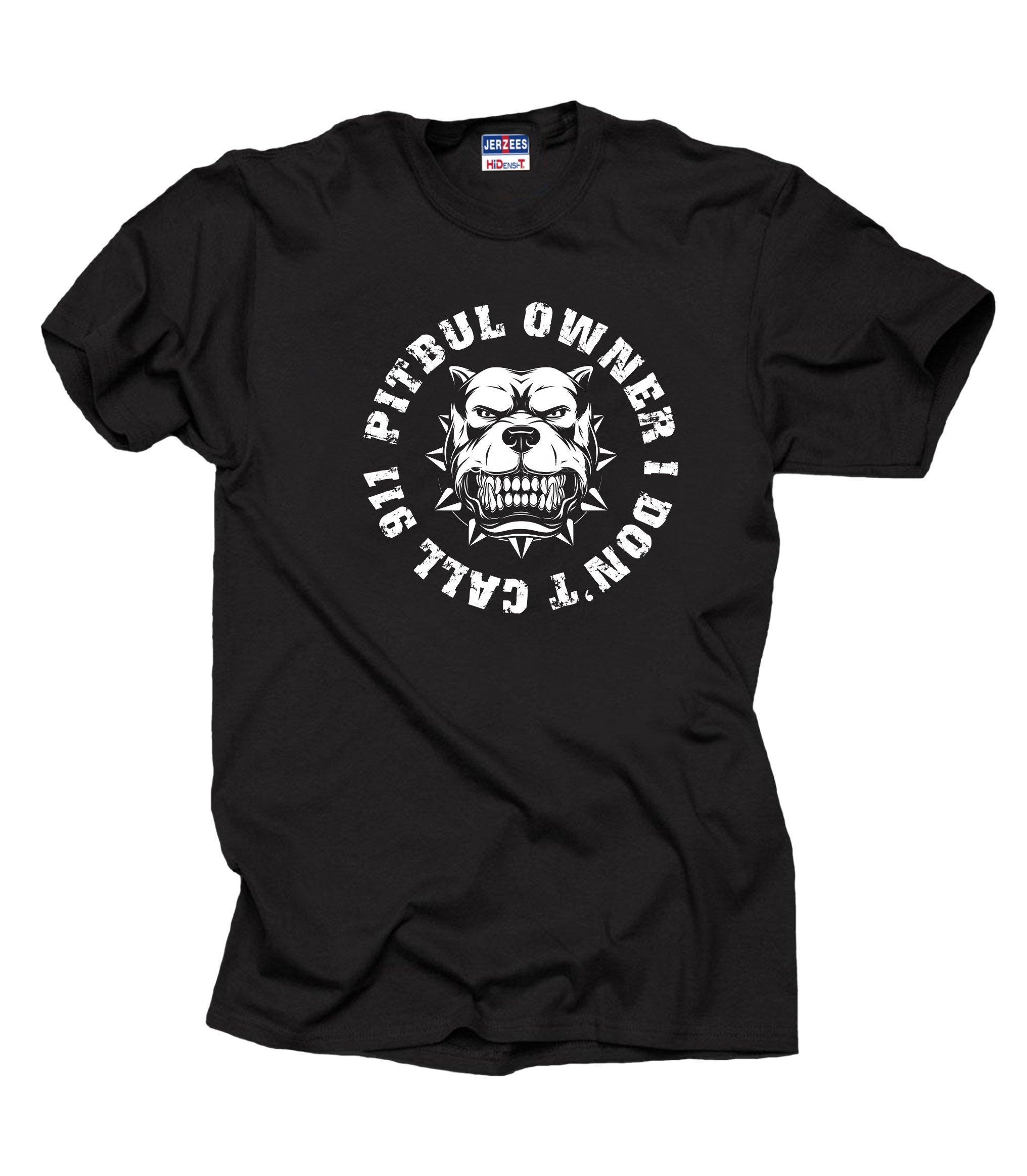 Pitbull Owner T Shirt Dog Lover T Pitbull T 3560