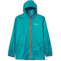 Regatta Kid Pack It Jacket Iii Waterproof Breatherbale Lightweight Durable Water Repellent Taped Seams Packs Away…