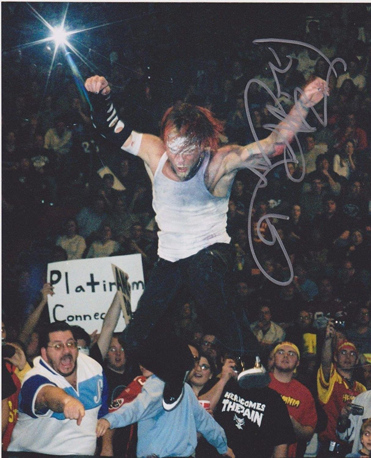 Wwe tna jeff hardy autographed 11x14 photo auto signed autograph - Jeff Hardy Signed Wwe 8x10 Photo Autographed Wrestling Photos At Amazon S Sports Collectibles Store