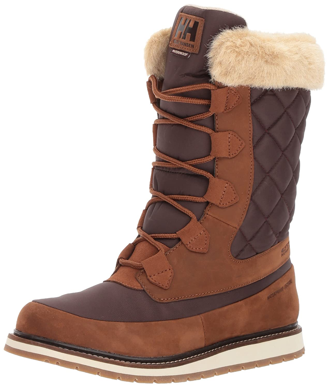 Helly Hansen Women's Arosa HT Winter Boot B06W51TY5V 8.5 B(M) US|Whiskey/Coffe Bean/Inc