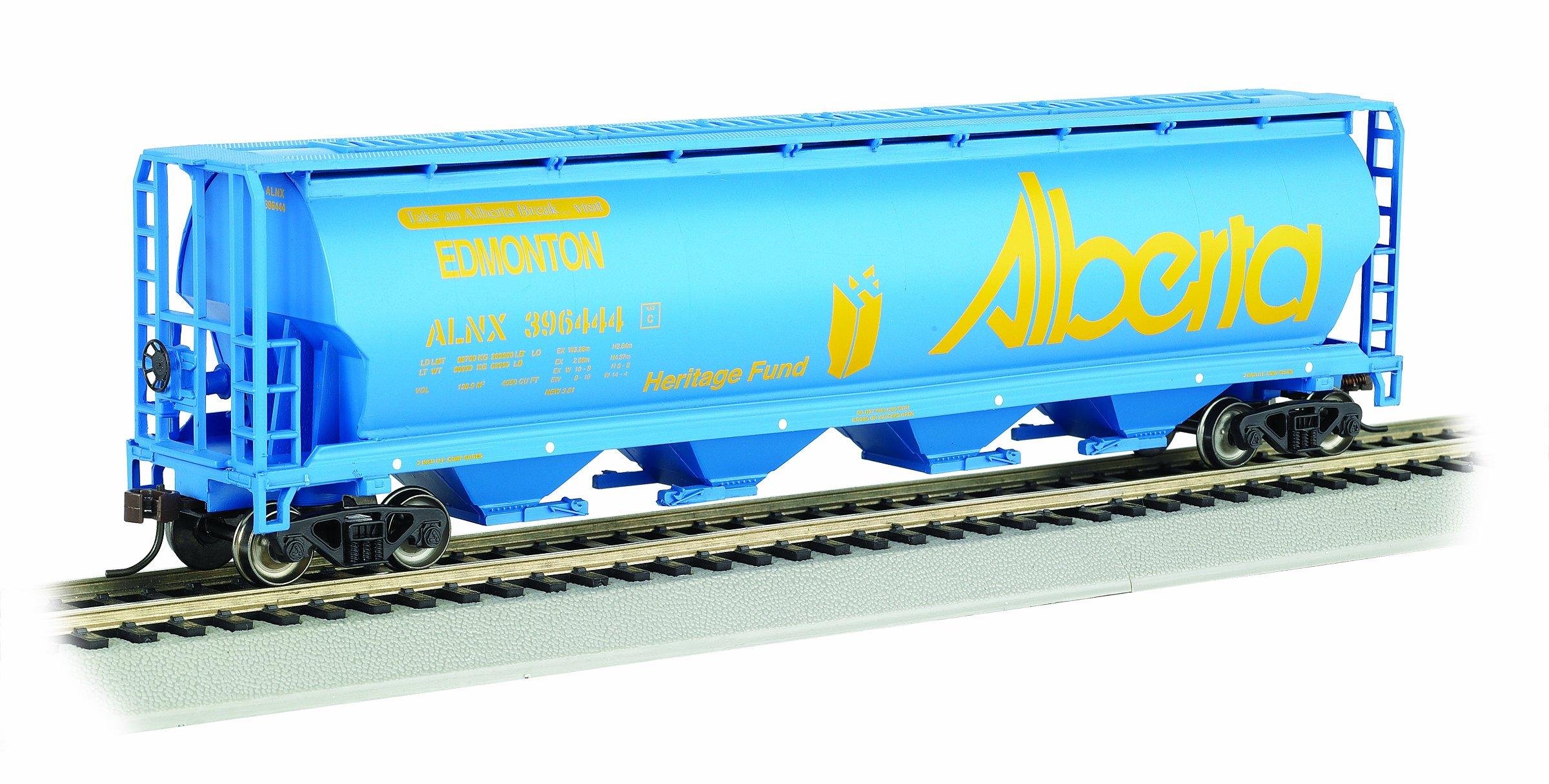 Bachmann Trains Alberta/Edmonton 4 Bay Cylindrical Grain Hopper