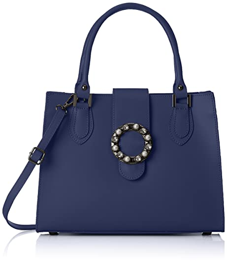 acddd674 Chicca Borse Mujer Bolso de mano Azul Size: 34x26x13 cm (W x H x L ...