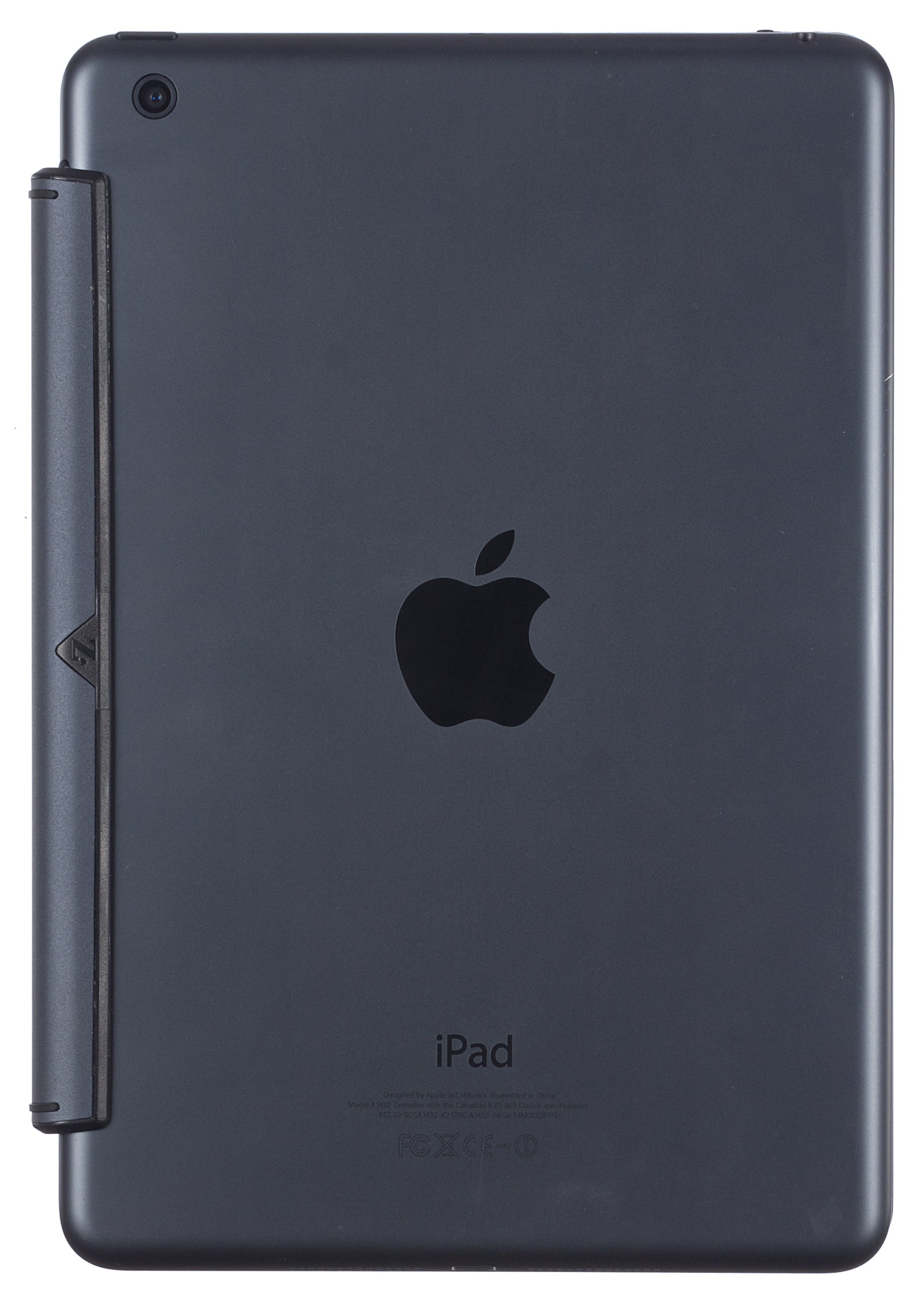 ZAGG Cover with Backlit Bluetooth Keyboard for Apple iPad mini 1 /  mini 2 - Black by ZAGG (Image #5)