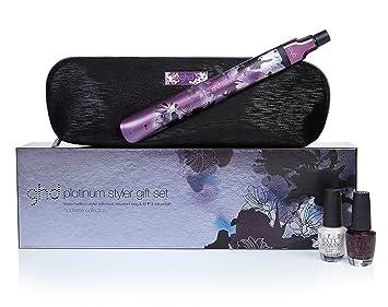 GHD Platinum nocturne Styler Coffret cadeau élégant Lisseur   2 x OPI  Vernis à ongles comme fbe111e405f