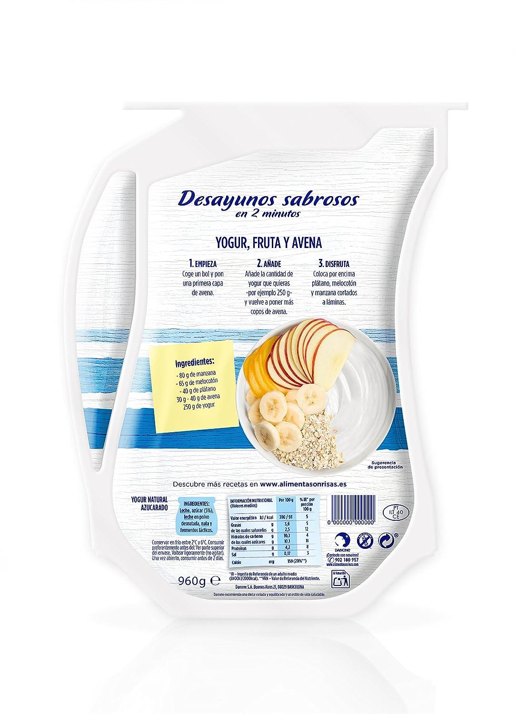 Danone A tu Gusto Yogur Cremoso Natural Azucarado con Fermentos Naturales - 1 unidad: Amazon.es: Alimentación y bebidas