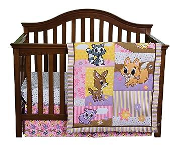 Amazon.com: Trend Lab 3 piezas Juego de ropa de cama para ...