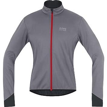 Gore Bike Wear Power 2.0 – Forro Polar Soft Shell Chaqueta de Carreras, Windstopper, Jacket, jwposo