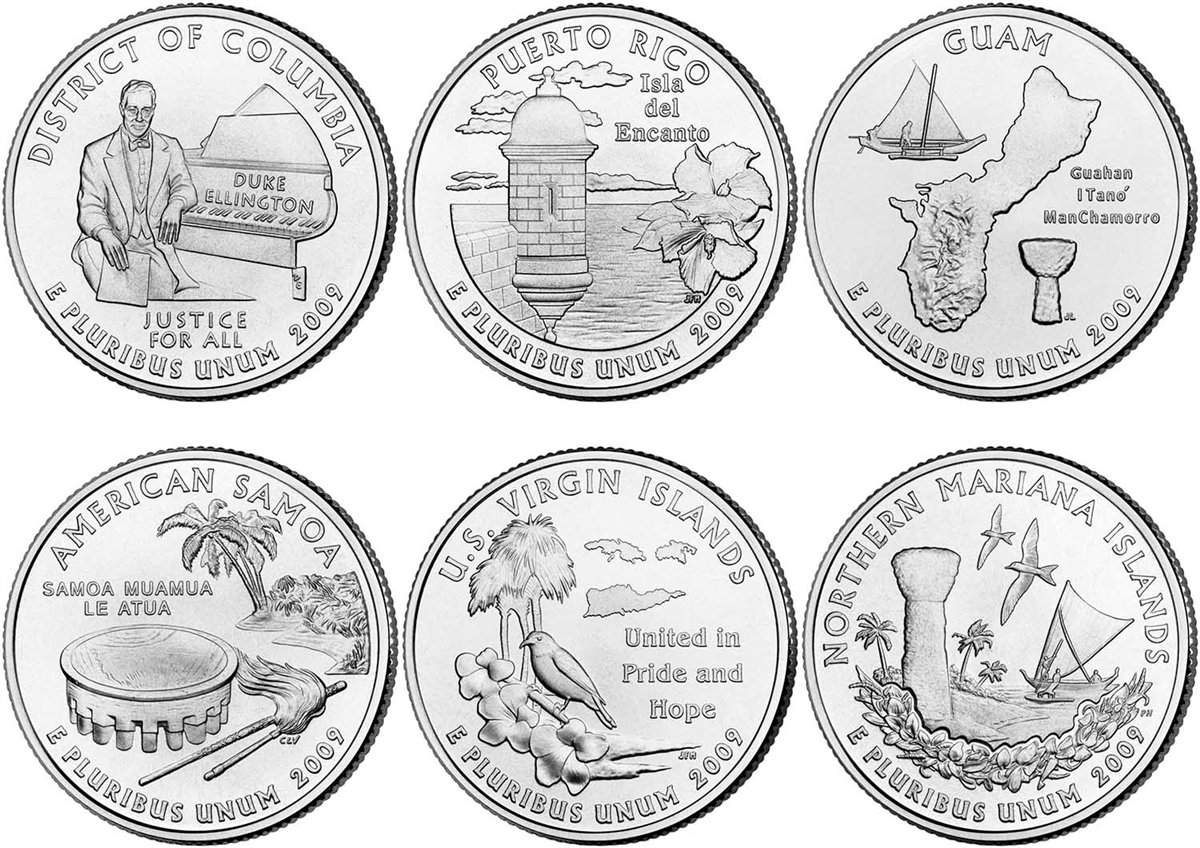 2009-D Brilliant Uncirculated Northern Mariana Island Quarter Coin!