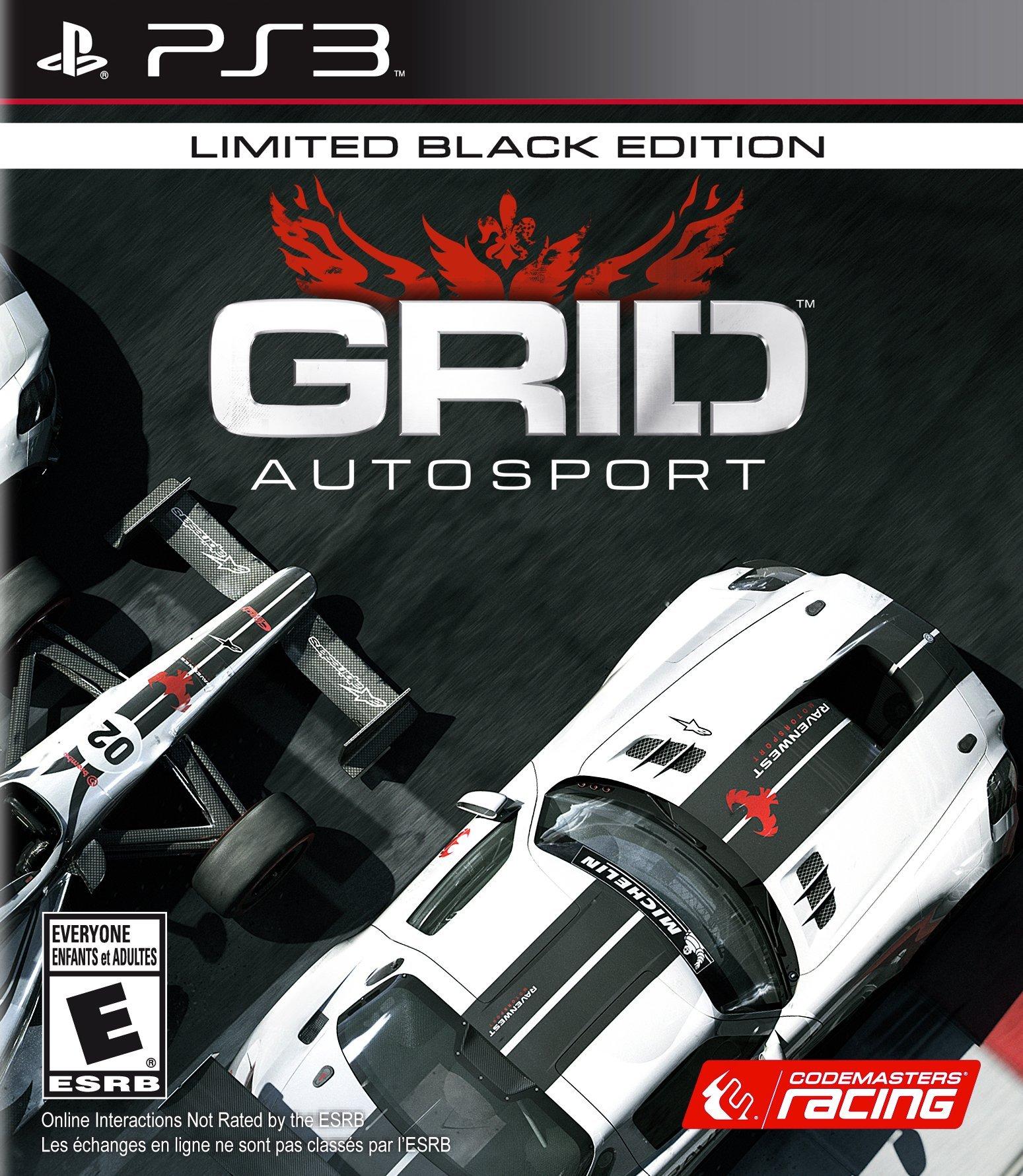 GRID Autosport - Playstation 3 Black Edition