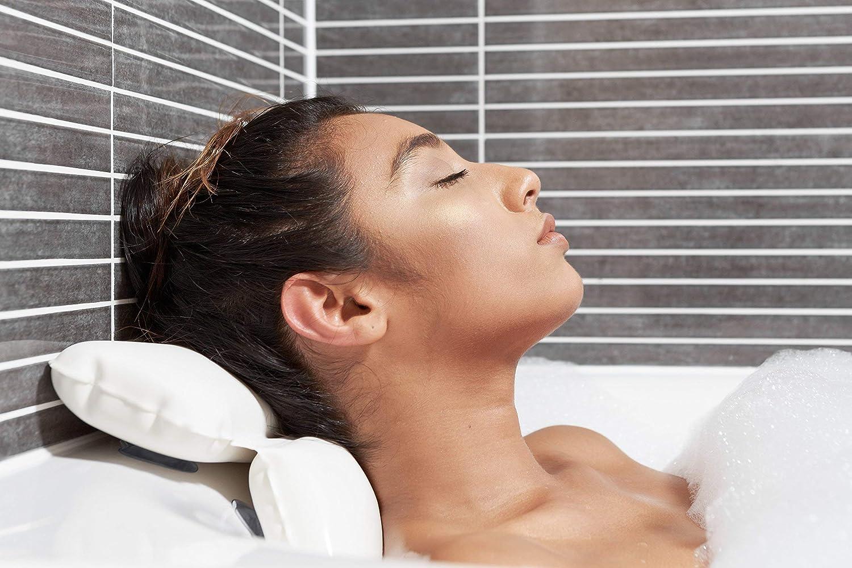 Sedol Cuscino Vasca da bagno – Cuscino bagno – Bath Pillow con Esfoliante Loofah Spugna Sedol Creations