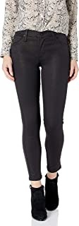 product image for James Jeans Women's J Twiggy Ankle Length Glossed Legging in Black Shimmer