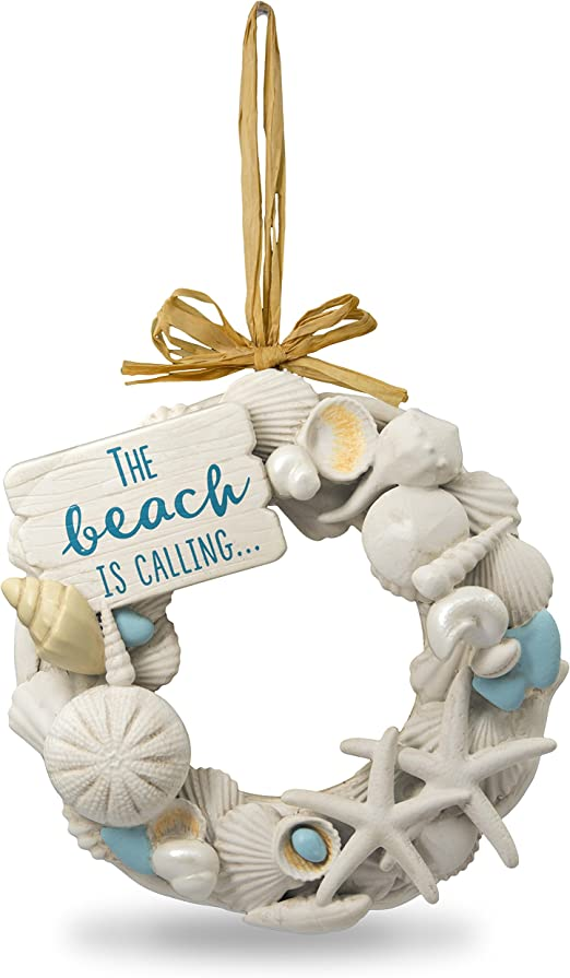 Amazon Com Hallmark Keepsake Christmas Ornament 2018 Year Dated Seashells A Day At The Beach Home Kitchen