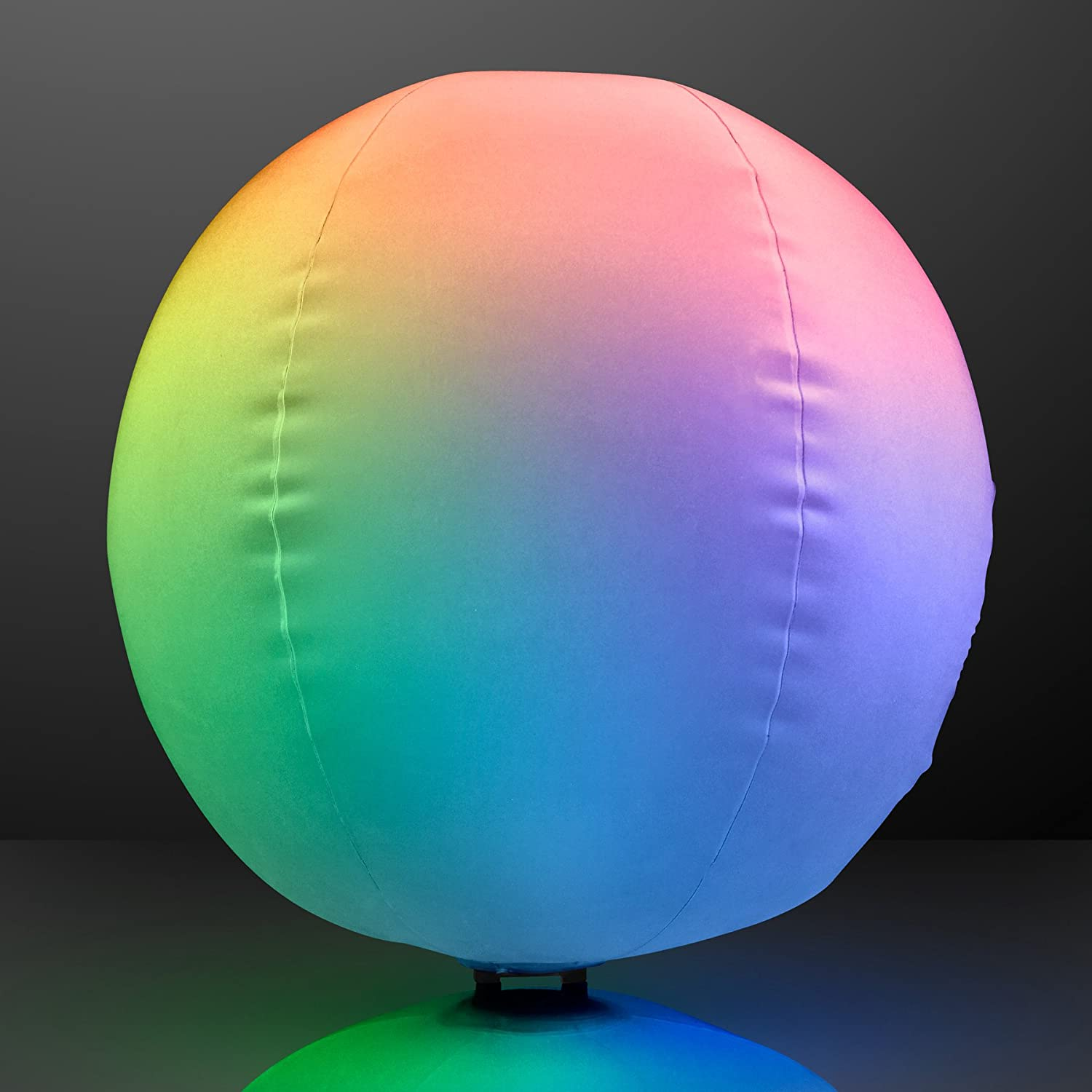 Amazon Light Up Beach Ball with Color Changing LED Lights – Beach Ball Party Invitations