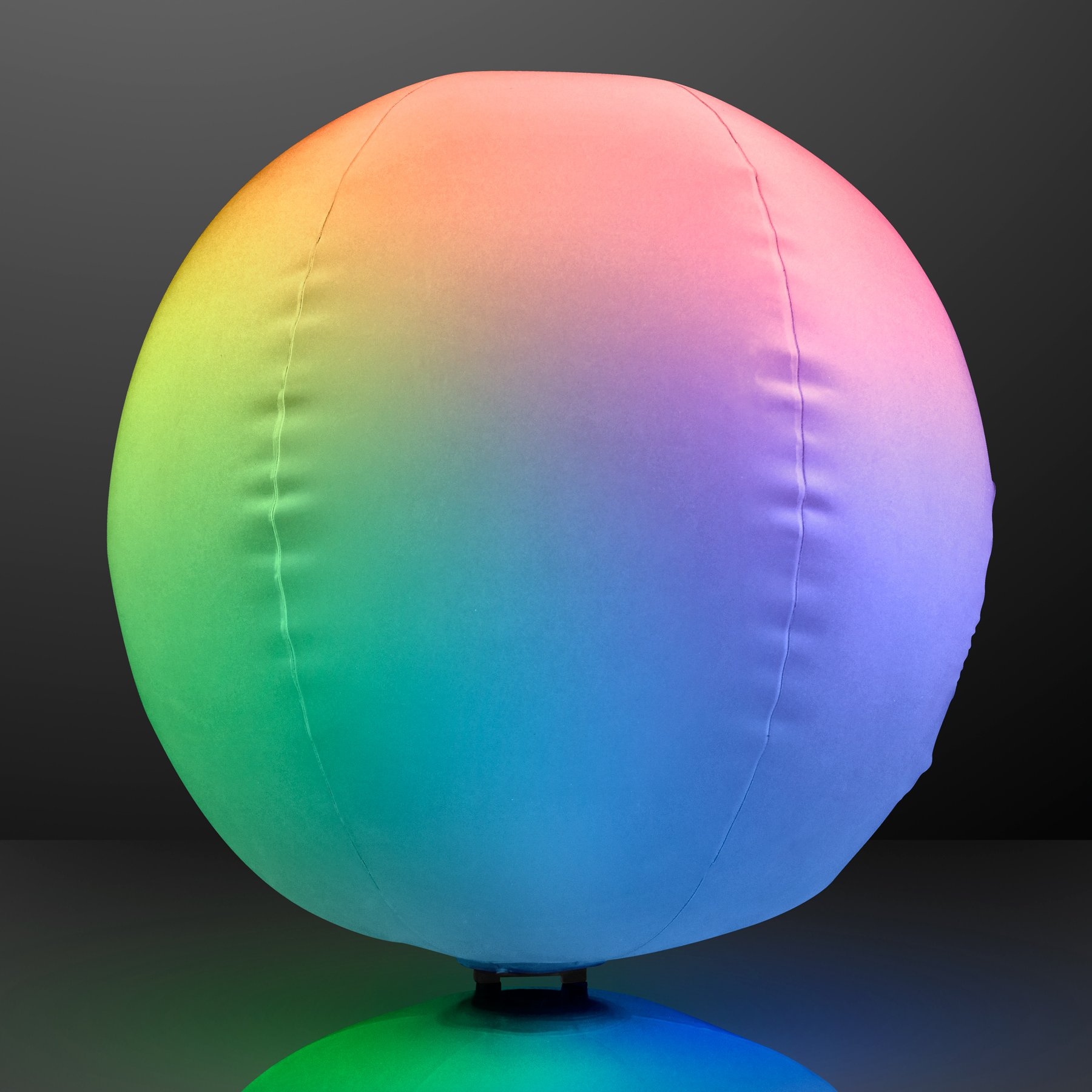 Light Up Beach Ball with Color Changing LED Lights (Set of 12) by FlashingBlinkyLights (Image #4)