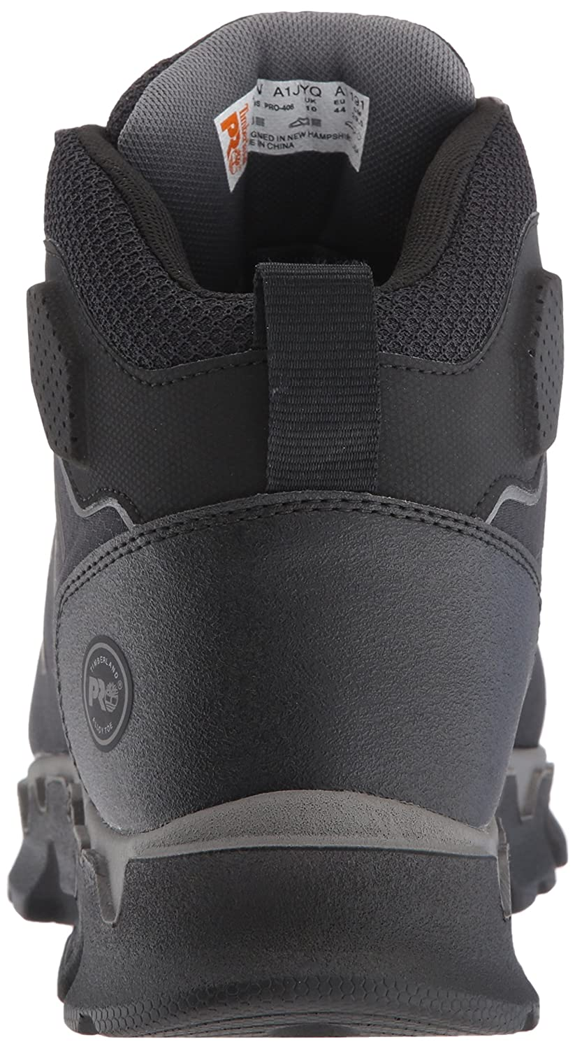 d6304b48acd2 Amazon.com  Timberland PRO Men s Powertrain Sport Mid Alloy Toe EH  Industrial   Construction Shoe  Shoes