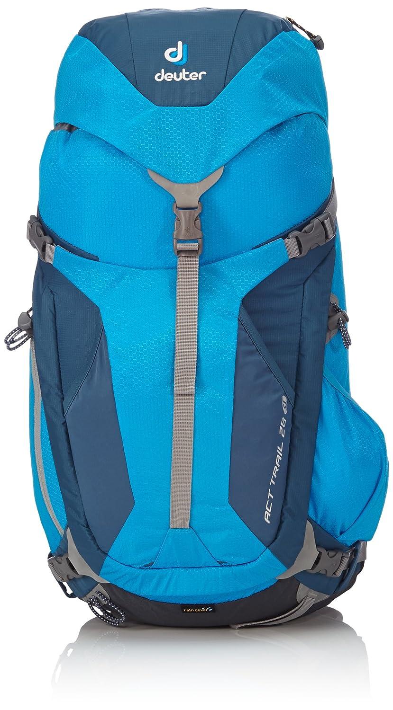 Deuter Rucksack ACT Trail 28 SL - Mochila de senderismo, color turquesa, talla 60 x 28 x 23 cm: Amazon.es: Deportes y aire libre