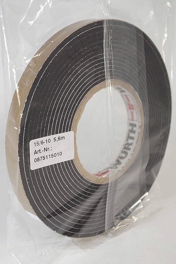 Würth cinta banda anillo de junta VKP Basic BG2 5,6 m 15/6 - 10 mm: Amazon.es: Bricolaje y herramientas