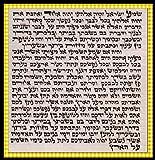 Parchemin KLAF MEZOUZA MEZOUZAH CACHER Juif 7 cm Ecrit en ISRAEL Neuf JUDAISME - Cadeau Juif - MEZOUZAH MEZUZA MEZUZAH HEBRAIQUE HEBREU