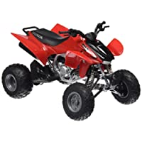 New Ray 57503 1:12 ATV QUAD HONDA TRX-450R, couleur rouge